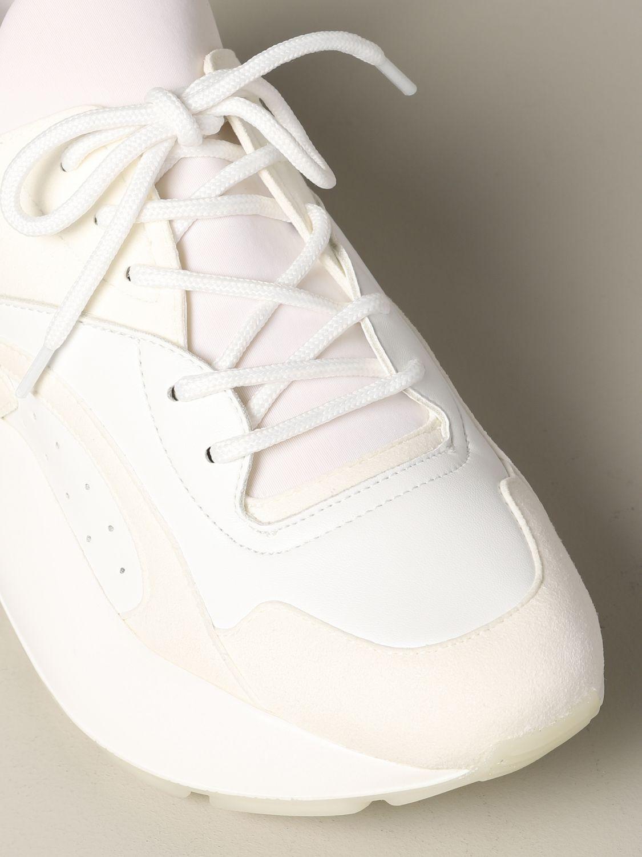 Sneakers Stella Mccartney in pelle con logo bianco 4