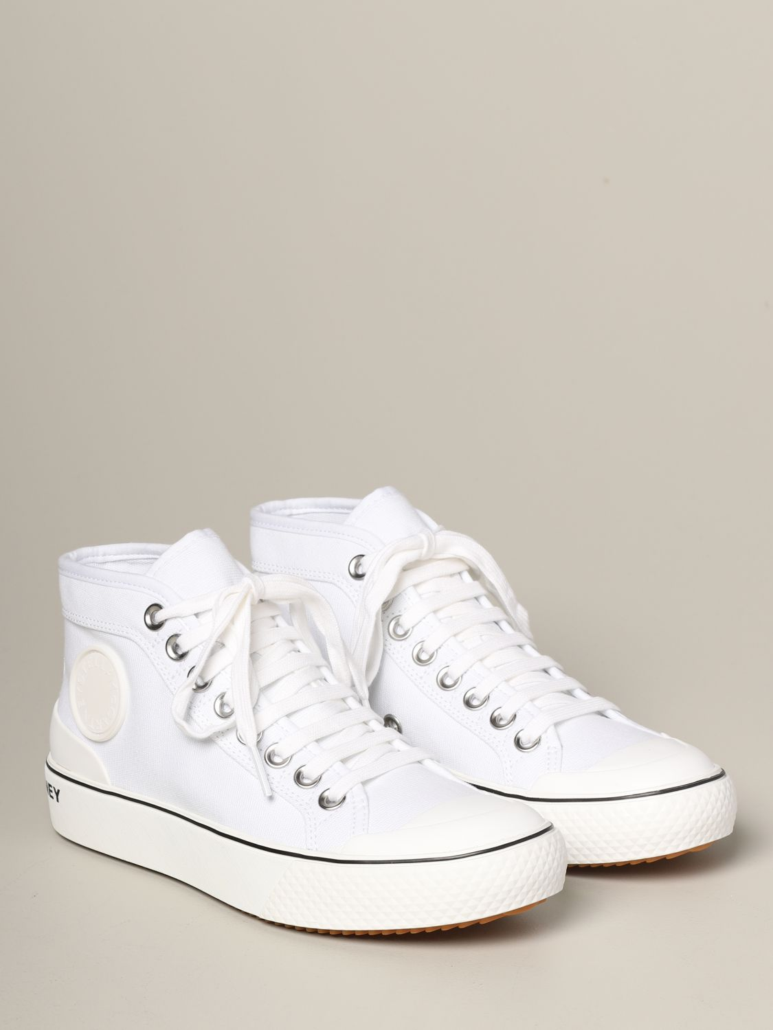 Sneakers Stella Mccartney con logo bianco 2