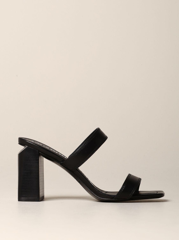 平跟凉鞋 女士 Alexander Wang 黑色 1