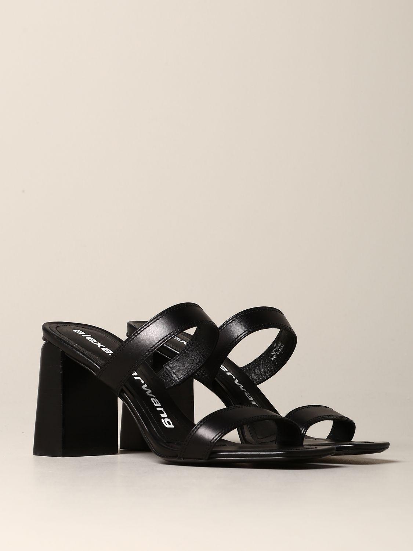 平跟凉鞋 女士 Alexander Wang 黑色 2