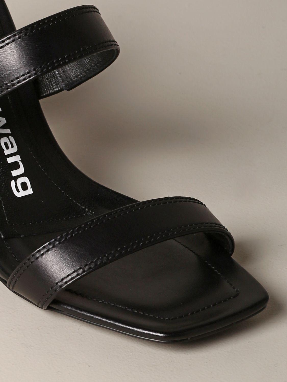 平跟凉鞋 女士 Alexander Wang 黑色 4