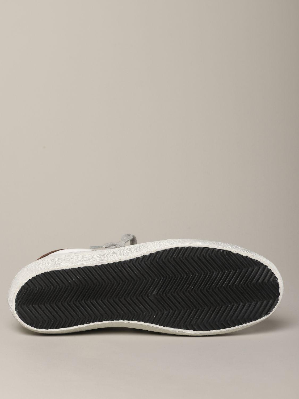 Golden Goose Sneakers aus Leder und Wildleder weiß 6
