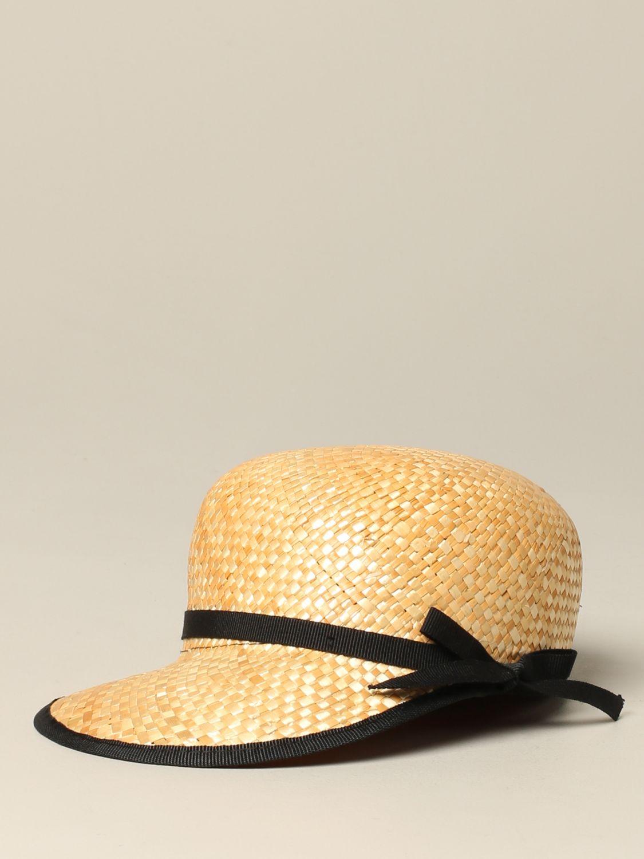 女童帽子 儿童 Douuod 米色 1