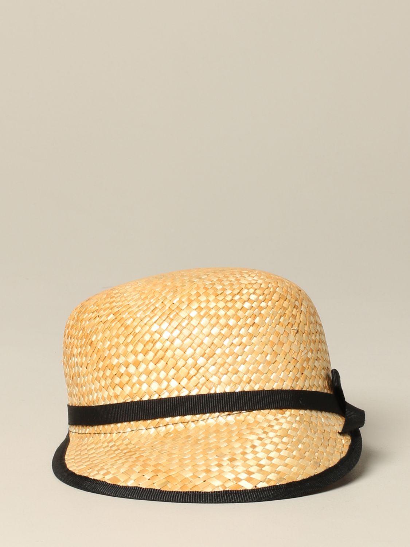 女童帽子 儿童 Douuod 米色 2