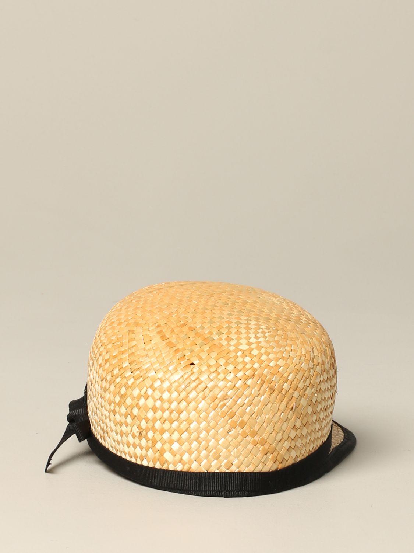 女童帽子 儿童 Douuod 米色 3