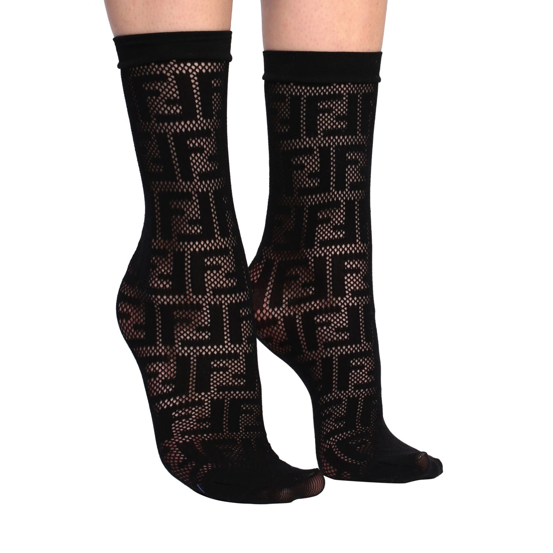 Socks women Fendi black 1