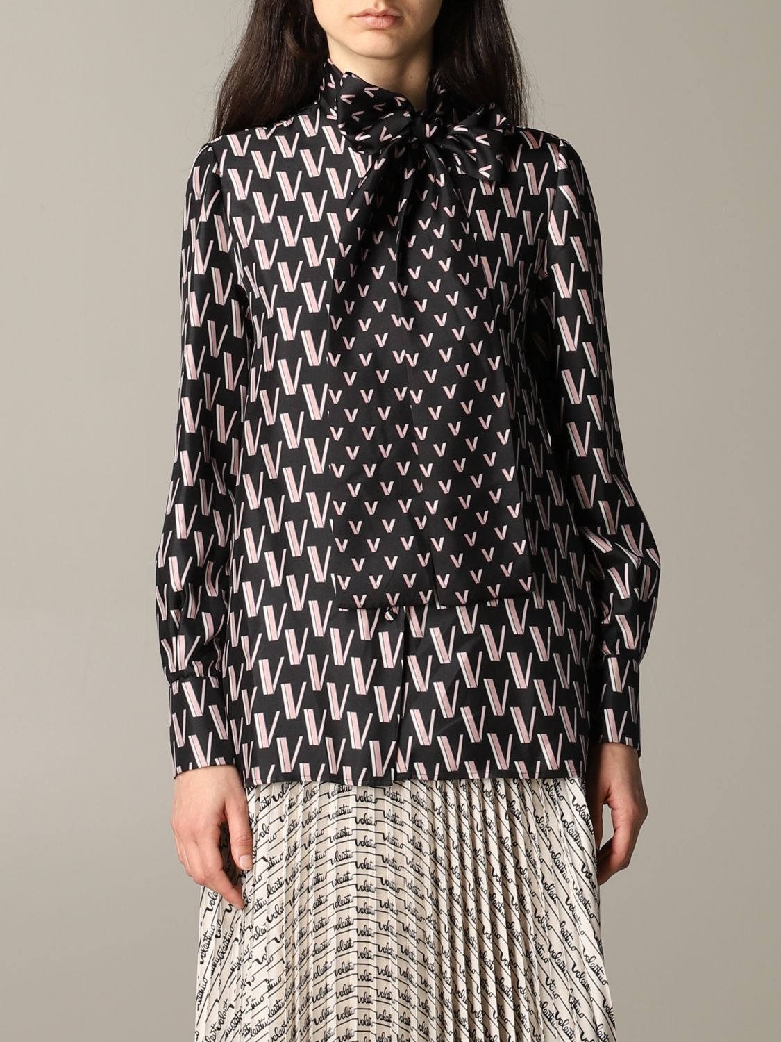 Shirt women Valentino black 1