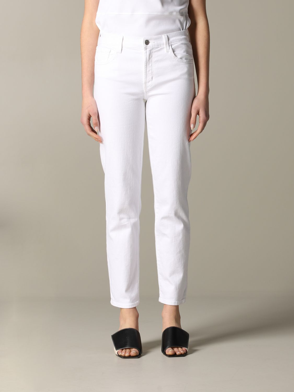 Jeans mujer J Brand blanco 1