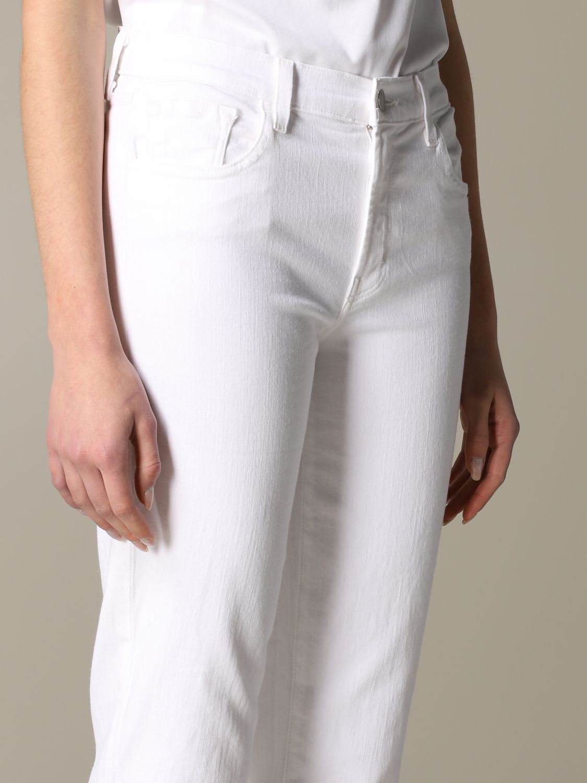 Jeans mujer J Brand blanco 5