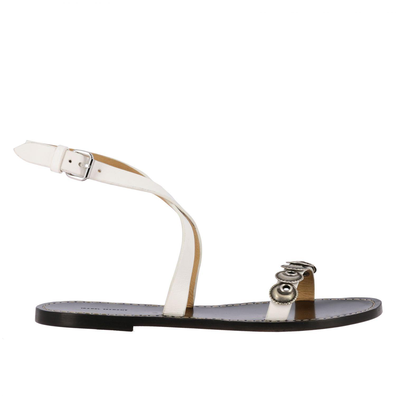 Sandalen mit absatz damen Isabel Marant schwarz 1