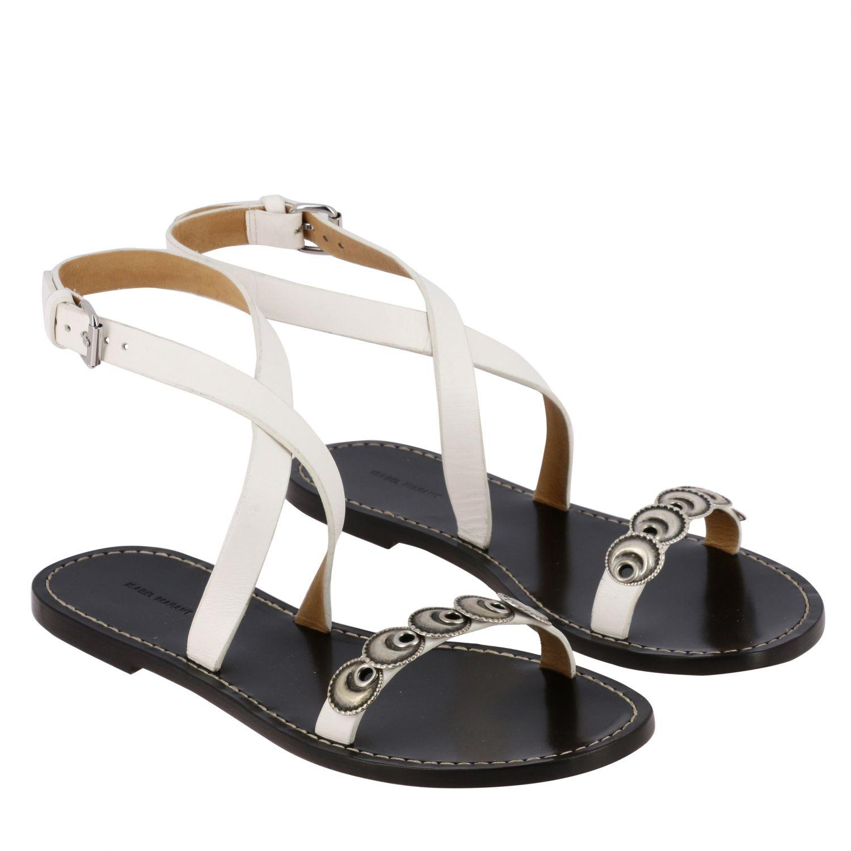 Sandalen mit absatz damen Isabel Marant schwarz 2