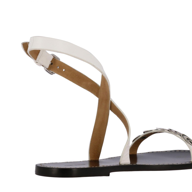 Sandalen mit absatz damen Isabel Marant schwarz 5