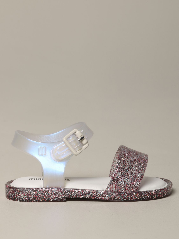 Mini Melissa 一字凉鞋 粉色 1