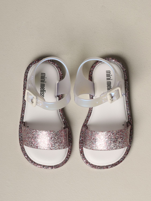 Mini Melissa 一字凉鞋 粉色 3