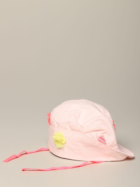 Cappello neonato Billieblush: Cappello Billieblush con applicazioni colorate rosa 1