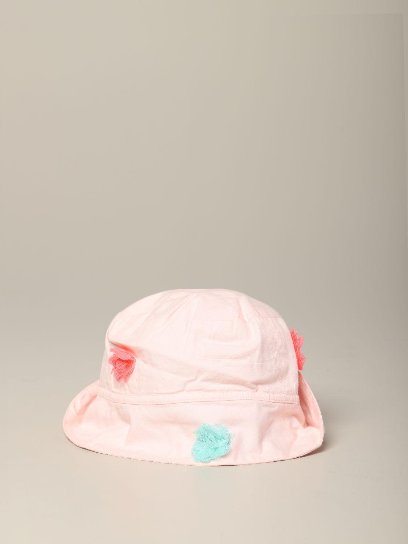 Cappello neonato Billieblush: Cappello Billieblush con applicazioni colorate rosa 2