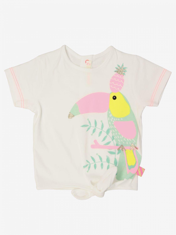 T-shirt Billieblush: T-shirt Billieblush a maniche corte con stampa bianco 1