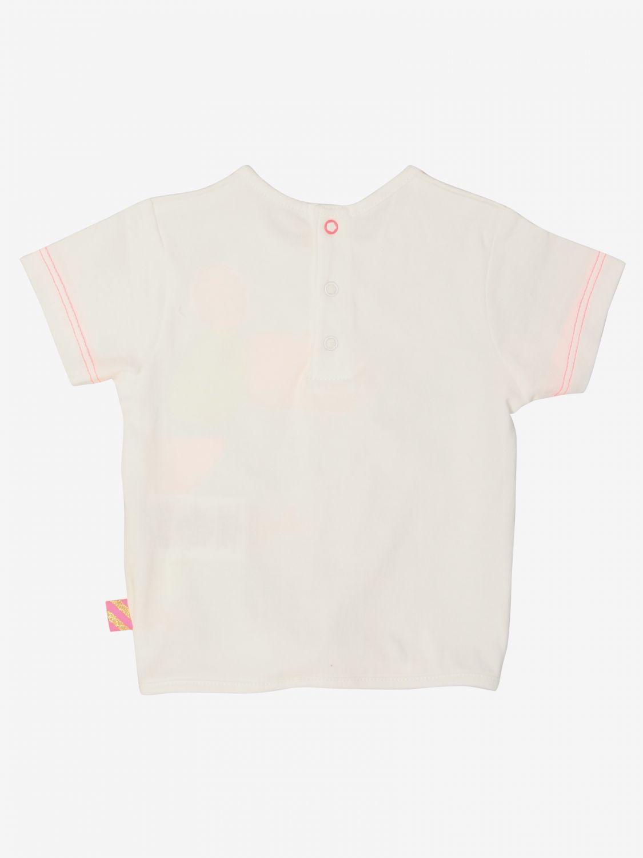 T-shirt Billieblush: T-shirt Billieblush a maniche corte con stampa bianco 2