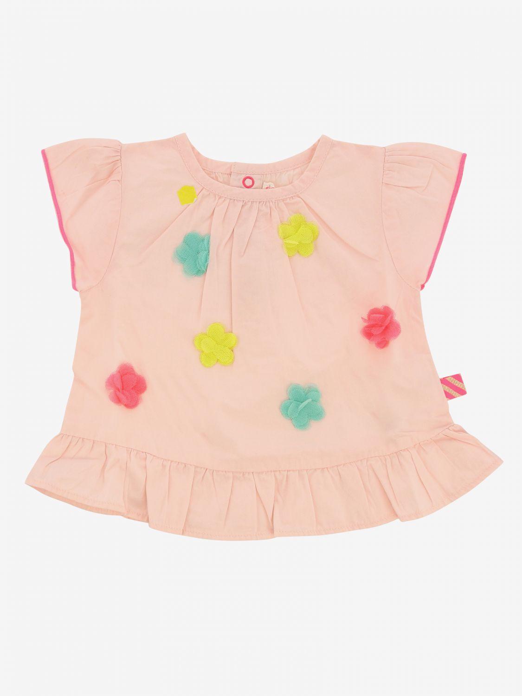 毛衣 Billieblush: Billieblush 彩色花饰上衣 粉色 1