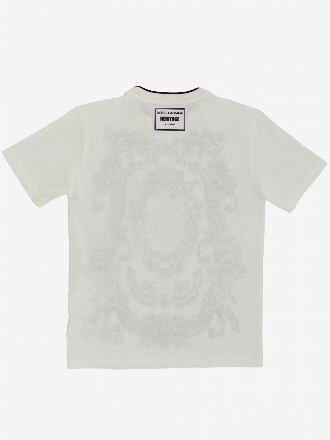 T-shirt Dolce & Gabbana: T-shirt kids Dolce & Gabbana yellow cream 2