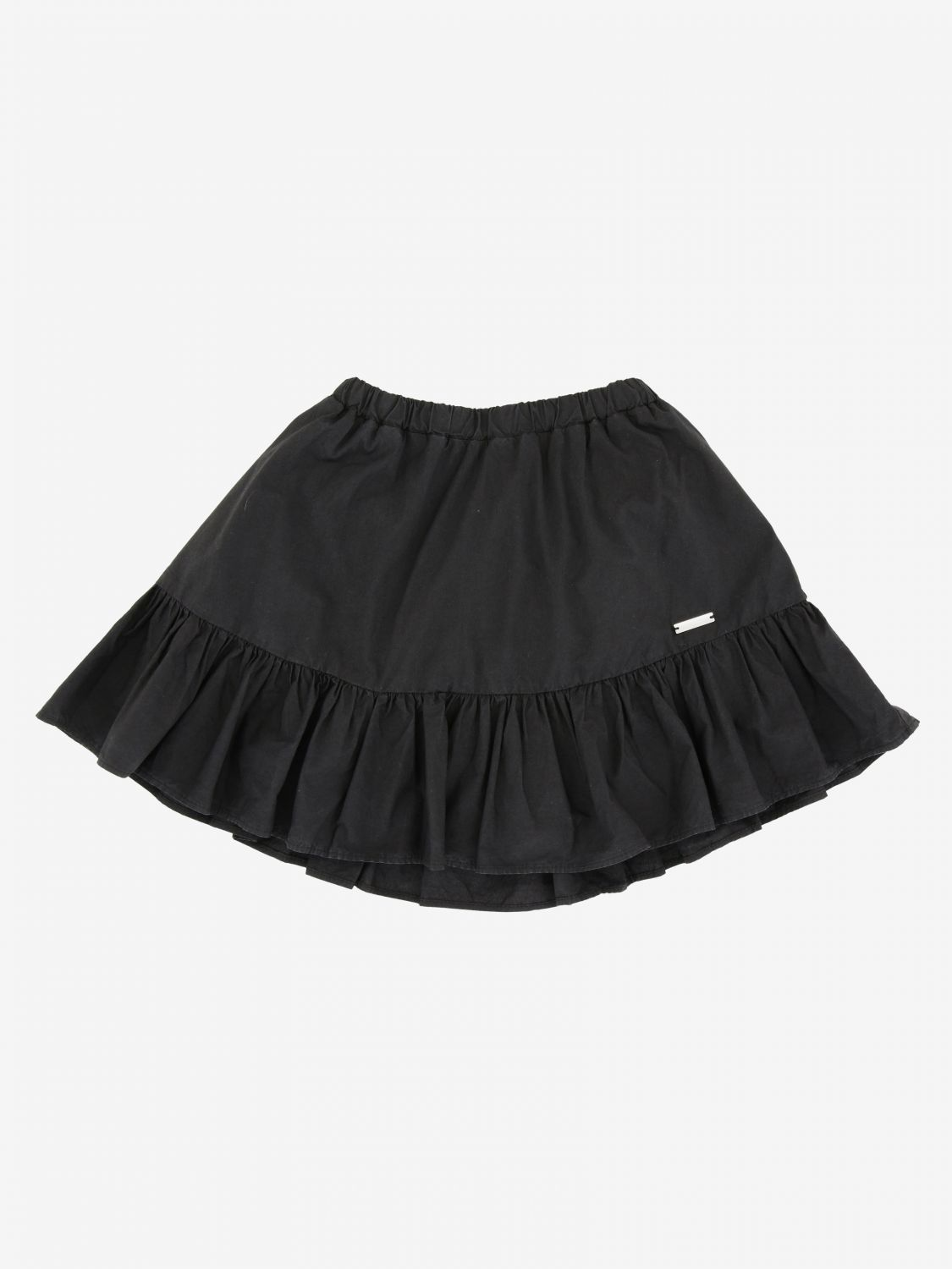 Msgm Kids skirt with flounce multicolor 1
