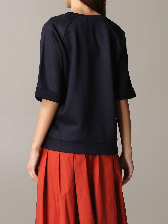Fay sweatshirt with wide sleeves navy 3