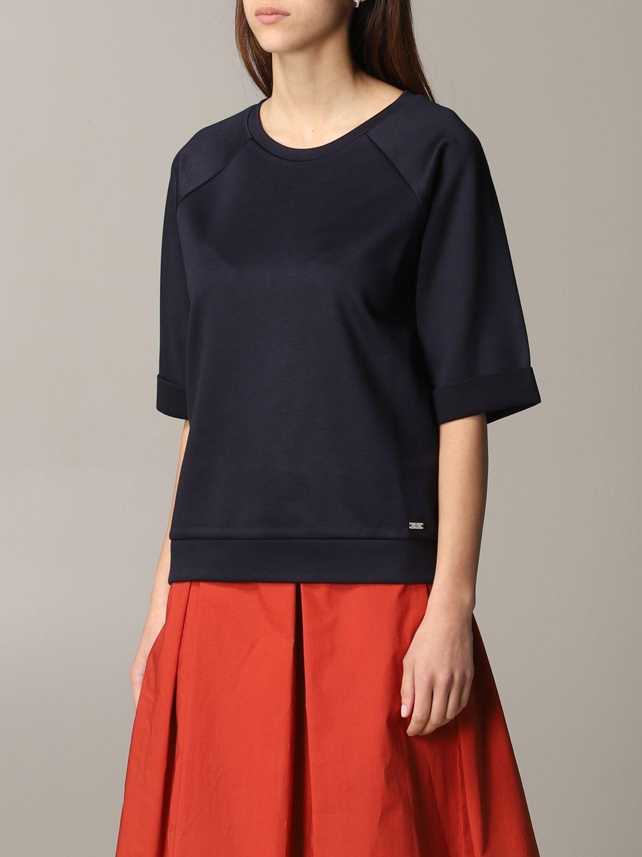 Fay sweatshirt with wide sleeves navy 4