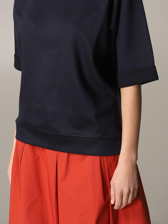 Fay sweatshirt with wide sleeves navy 5