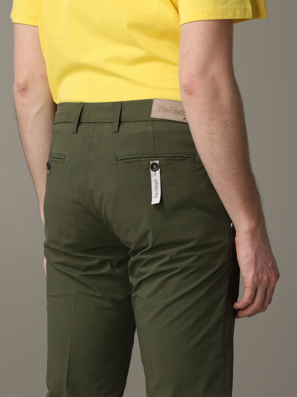 Pantalón hombre Re-hash verde 5