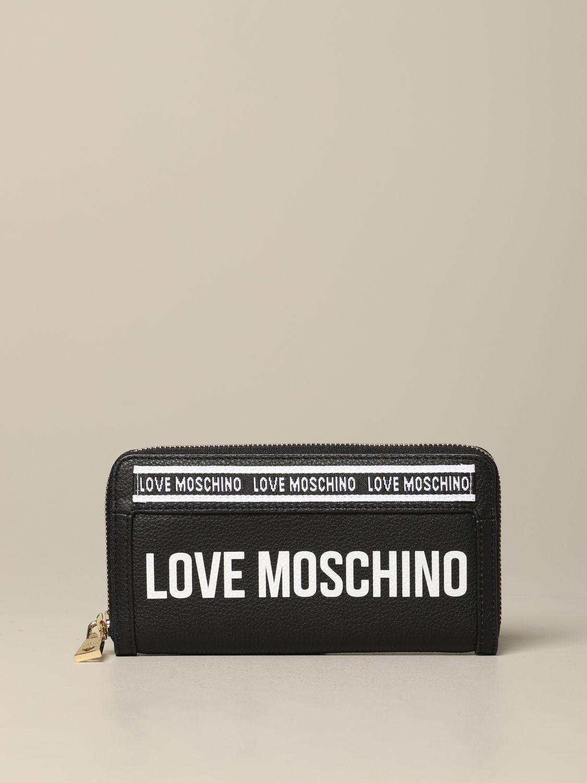 Wallet women Love Moschino black 1