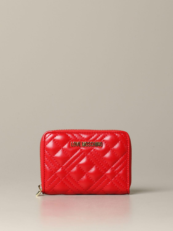 Wallet women Love Moschino red 1