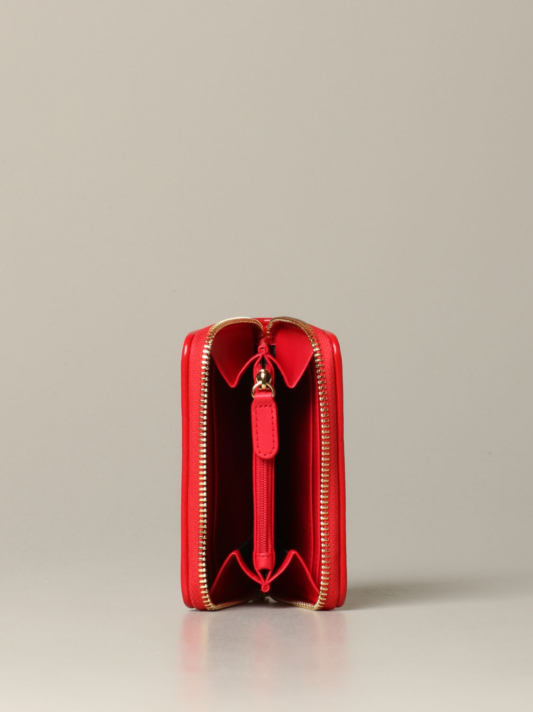 Wallet women Love Moschino red 2