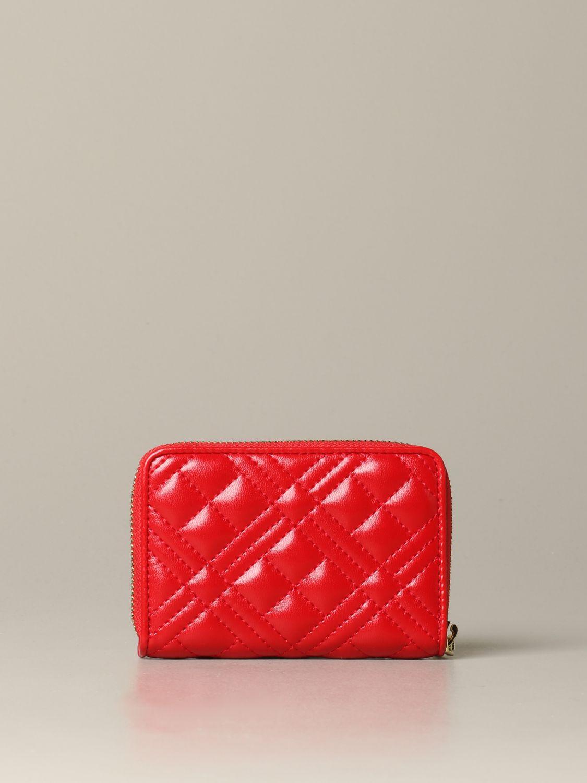 Wallet women Love Moschino red 3