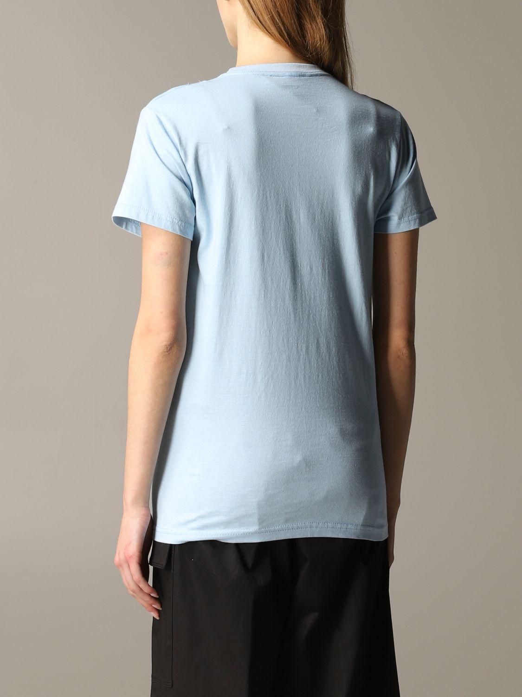 T-shirt 5 Progress: T-shirt 5 Progress a maniche corte con crest azzurro 3