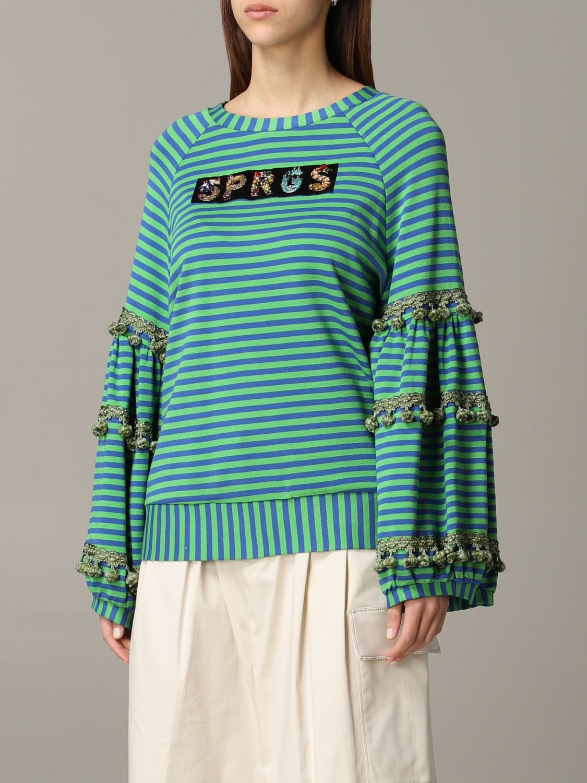 Sweatshirt 5 Progress: Sweatshirt women 5 Progress green 4