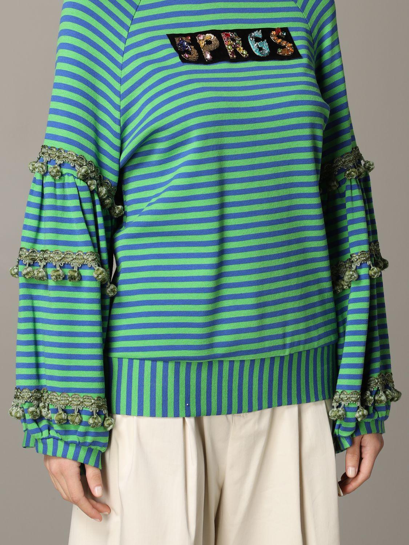 Sweatshirt 5 Progress: Sweatshirt women 5 Progress green 5