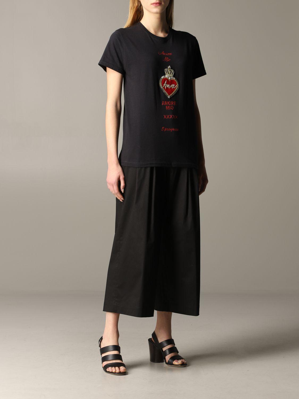 Camiseta 5 Progress: Camiseta mujer 5 Progress negro 2