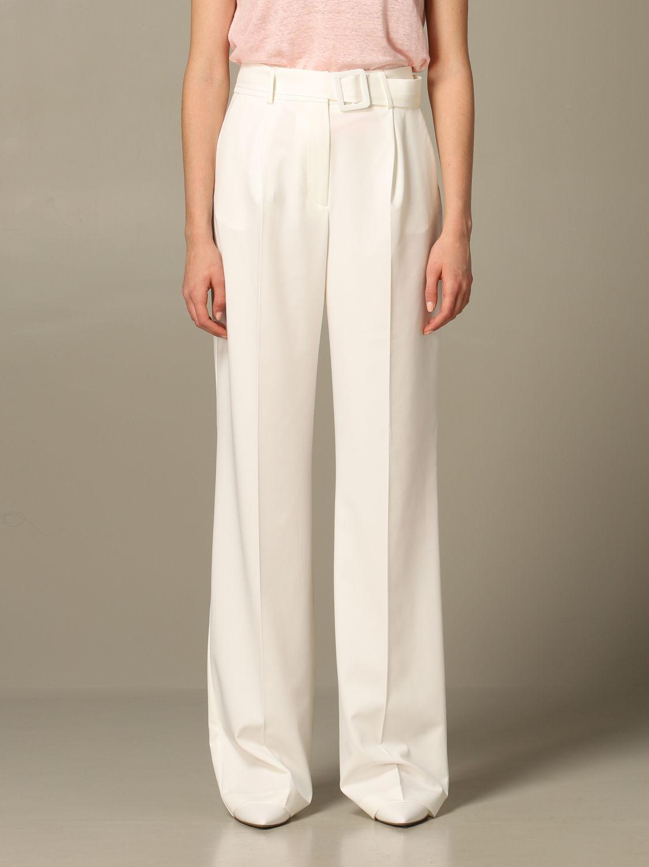 Trousers Be Blumarine: Trousers women Be Blumarine white 1