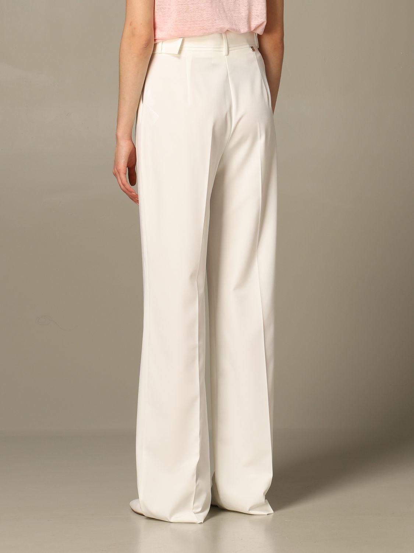 Trousers Be Blumarine: Trousers women Be Blumarine white 2