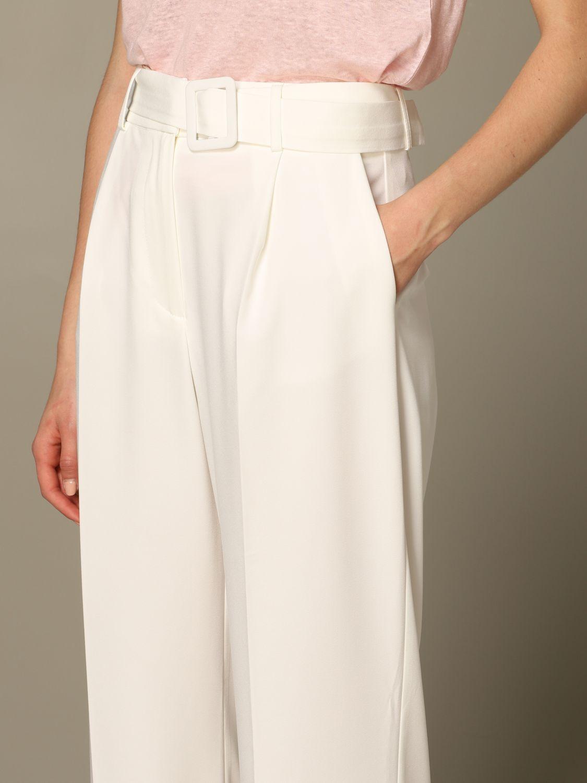 Trousers Be Blumarine: Trousers women Be Blumarine white 3