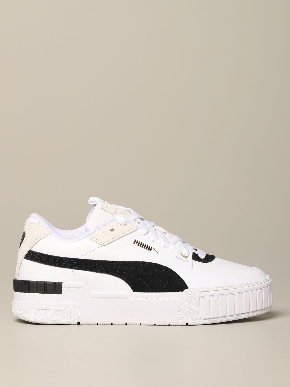 sneakers femme puma noir