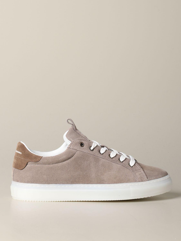 Sneakers Daniele Alessandrini: Sneakers herren Daniele Alessandrini sand 1