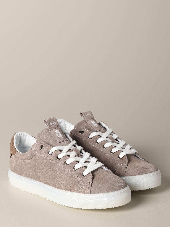 Sneakers Daniele Alessandrini: Sneakers herren Daniele Alessandrini sand 2