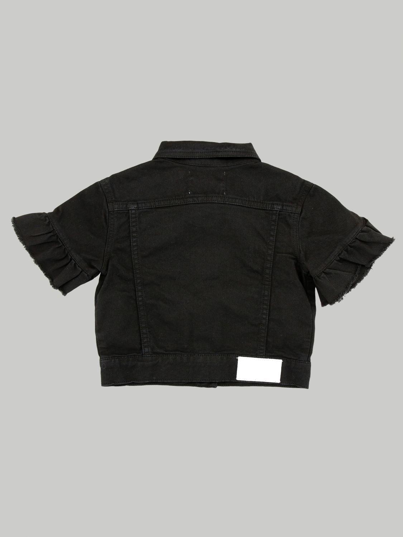 Veste enfant Msgm Kids noir 2