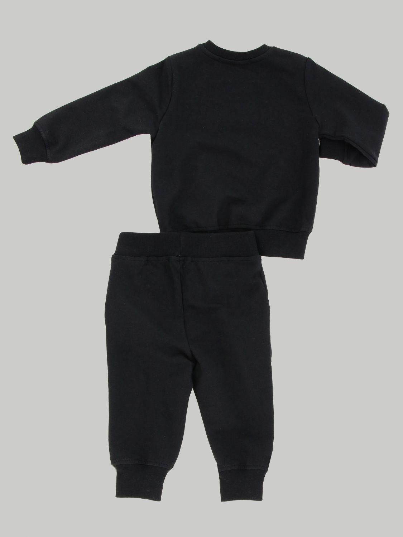 Msgm Kids sweatshirt + tracksuit set black 2