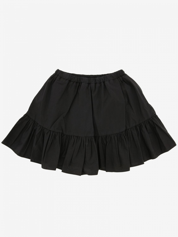 Skirt kids Msgm Kids black 2