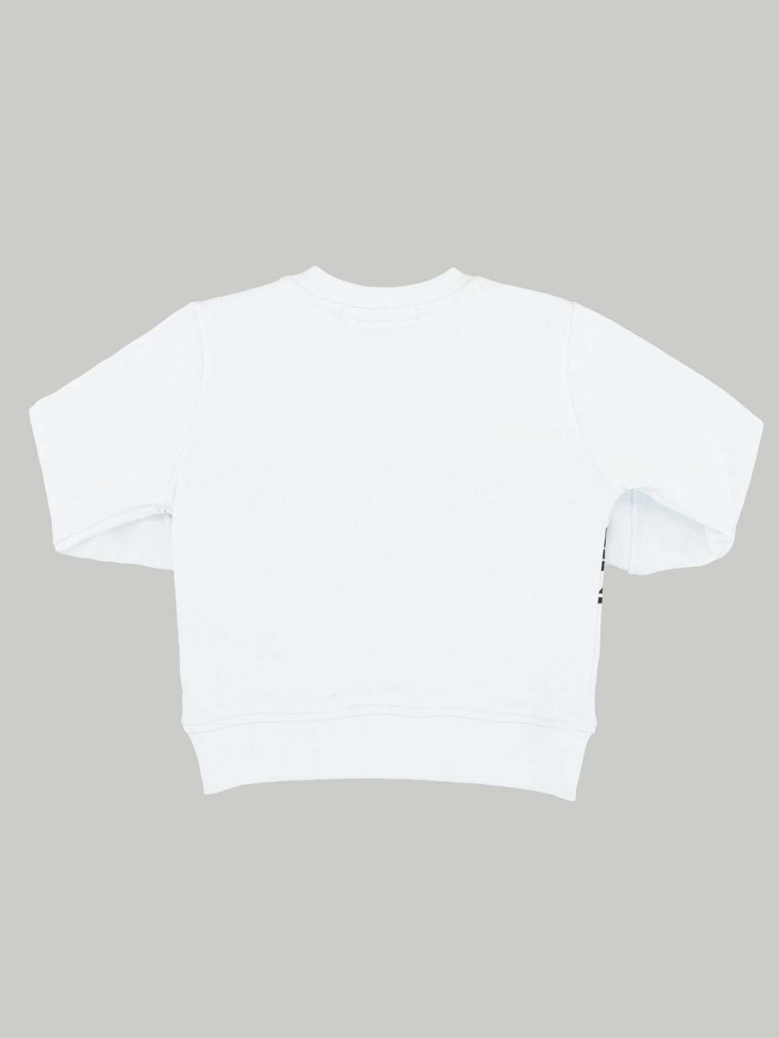 Msgm Kids sweatshirt with logo print white 2