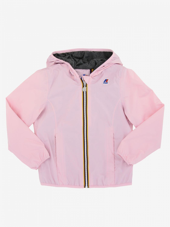 外套 儿童 K-way 粉色 1