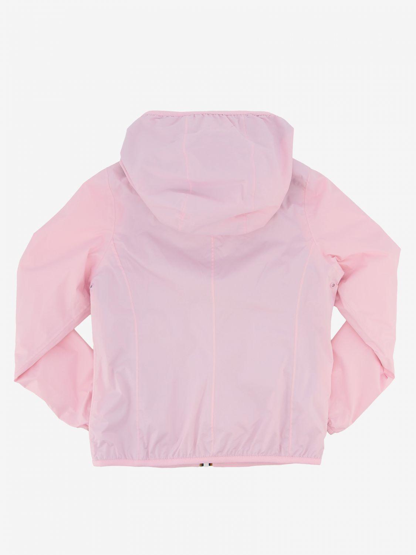 外套 儿童 K-way 粉色 2