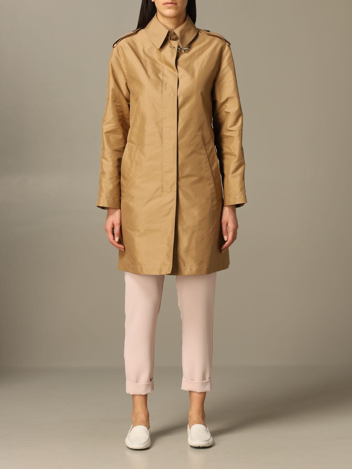 Classic Fay coat with frog biscuit 1
